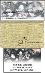 American Ferret Association Checks, Checkbook Cover and Address Labels